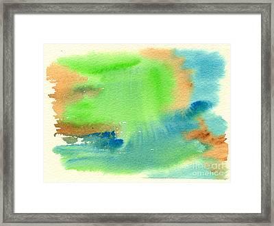 Hazy Forest I Framed Print by Beverly Claire Kaiya