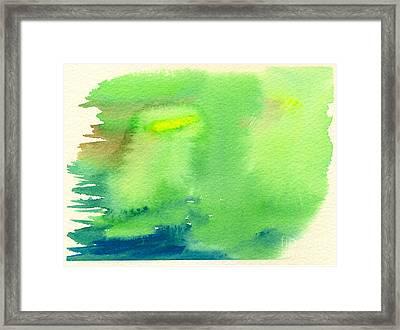 Hazy Forest IIi Framed Print by Beverly Claire Kaiya
