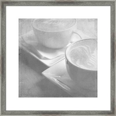Hazy Morning Moments 2 Framed Print