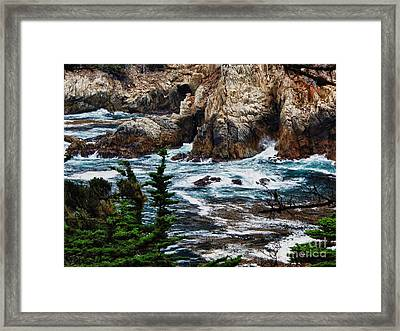 hd 429 The Toe 3 Framed Print by Chris Berry