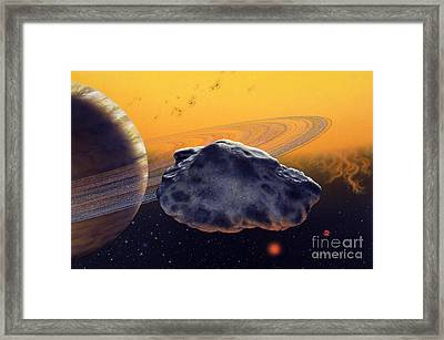Hd 46375 B Framed Print by Lynette Cook