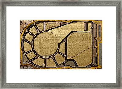 Hd Abstract Framed Print by Gary Conner