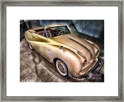 Hdr Classic Car Framed Print by Paul Fearn