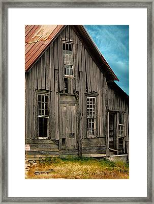 Shack Of Elora Tn  Framed Print