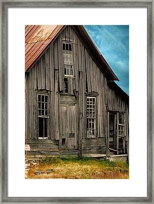 Shack Of Elora Tn  Framed Print