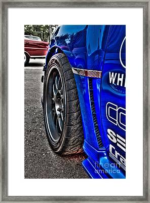 Hdr Subaru Wrx Sti Framed Print by Jeremy Brown