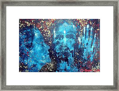 He Came To Me In My Dream Framed Print by Crystal Hayes