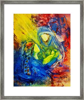 He Has Come Framed Print