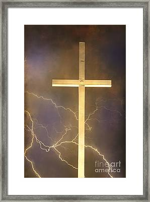 He Has Risen Framed Print by James BO  Insogna