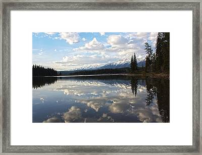 He Is Calling Framed Print by Janie Johnson