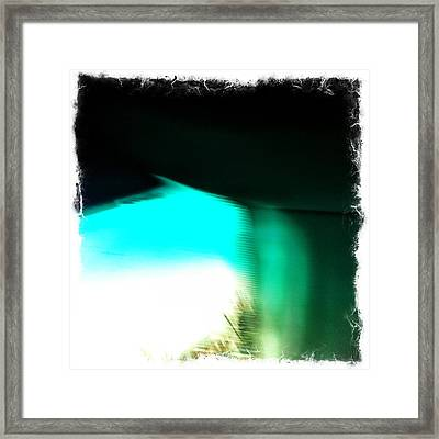 He Is Not Here-he Has Risen Framed Print by Mark Jenson