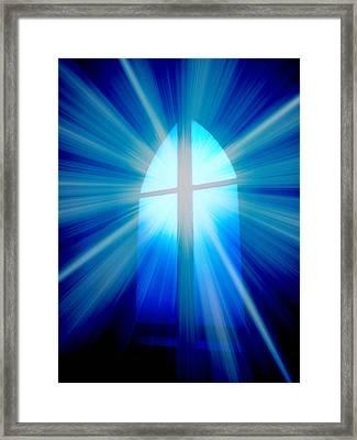 He Is Risen Framed Print