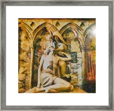 He Is Risen Framed Print by Dan Sproul