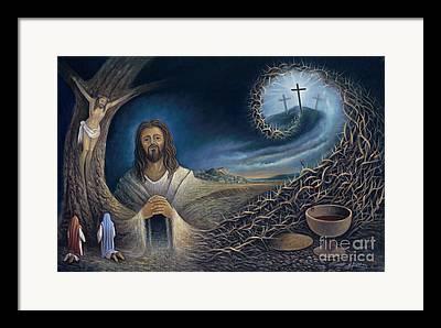 Crucifixtion Framed Prints