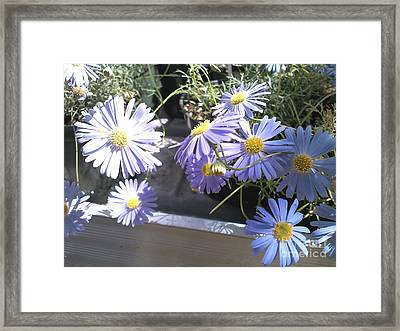 Framed Print featuring the digital art He Loves Me by Angelia Hodges Clay