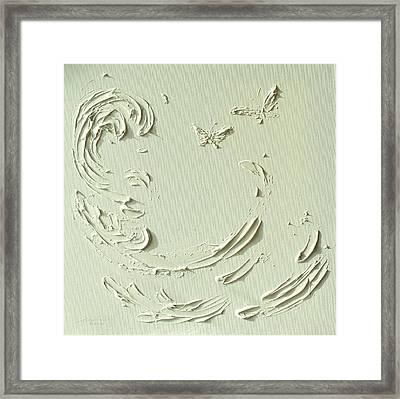 He Protects II Framed Print by Wings  Mok