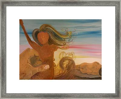 He Remembers That We Are Dust Framed Print