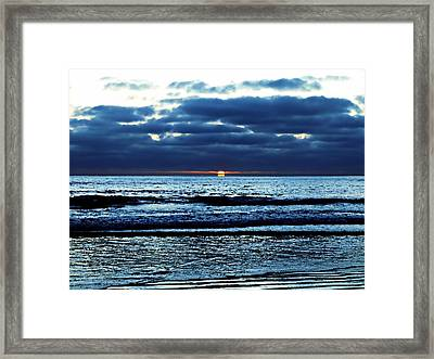 He Shall Be Great To The Ends Of The Earth Framed Print by Sharon Soberon