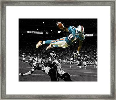 He Took Flight Framed Print by Brian Reaves