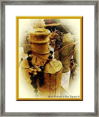 He Turned Water Into Wine Framed Print