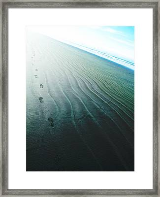He Walked Into The Light  Framed Print by Steve Taylor