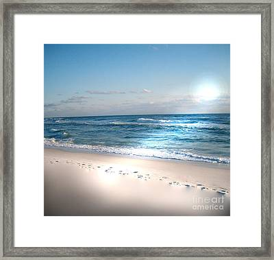 He Was Here Framed Print by Jeffery Fagan