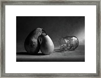 He Won't Come Home. Or pear Jam Framed Print