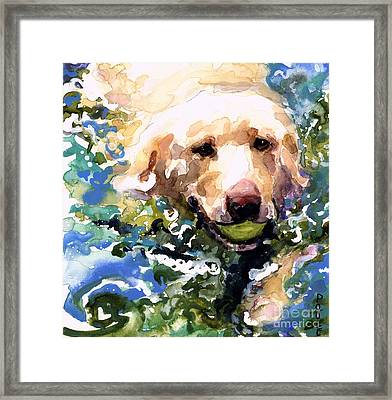 Head Above Water Framed Print