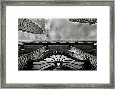 Head Back Framed Print by Shari Mattox