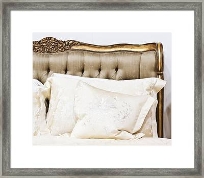 Head Board Framed Print by Tom Gowanlock