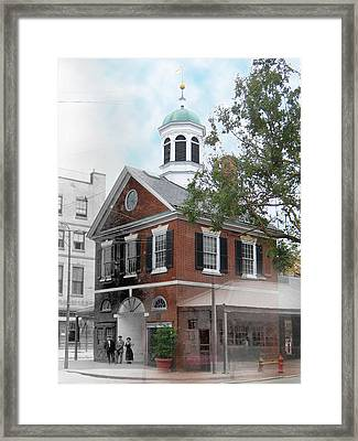 Head House Framed Print