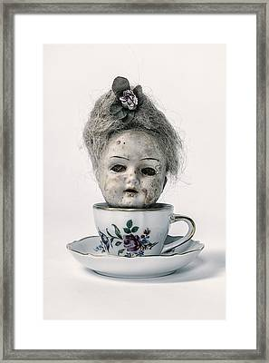 Head In Cup Framed Print by Joana Kruse