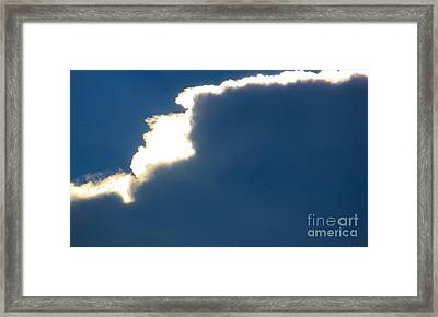 Head In The Clouds Framed Print by Joy Hardee