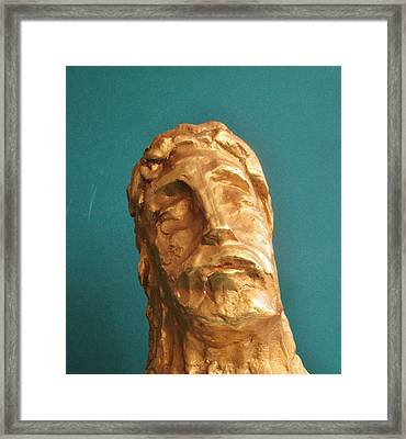 Head Of Christ 2014 Framed Print