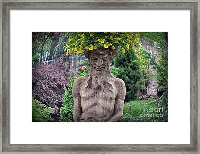 Head Of Flowers Framed Print by Gary Keesler