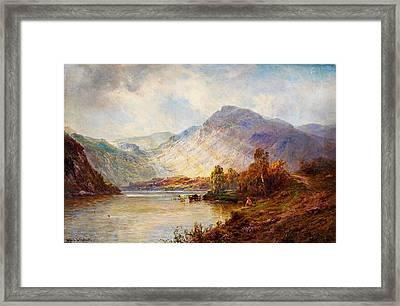 Head Of Loch Lomond Framed Print by Celestial Images