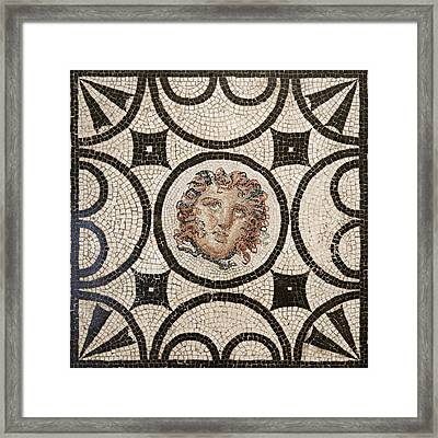 Head Of Medusa Framed Print by Unknown