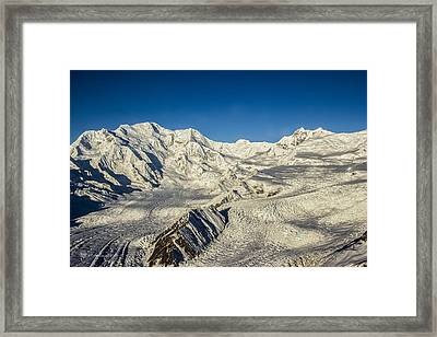 Head Of The Kennicott Glacier Framed Print
