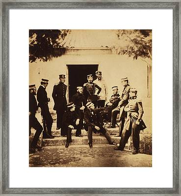 Head Quarters Staff 1 Colonel Vico 2 Major The Honourable Framed Print by Quint Lox