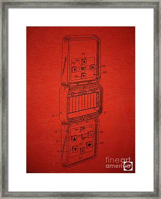 Head To Head Football Classic Electronic Toy Framed Print by Edward Fielding