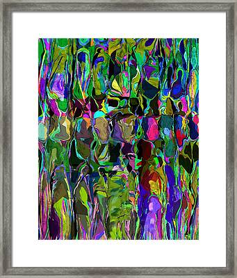 Head Voices Framed Print by David Lane