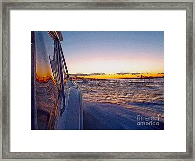 Headed Out Framed Print by Carey Chen