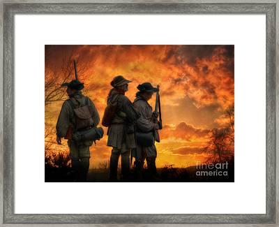 Headed To Ken-tuck-e Framed Print by Randy Steele
