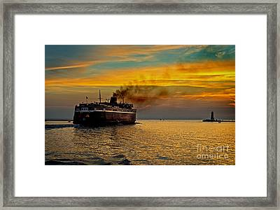 Headed West Framed Print