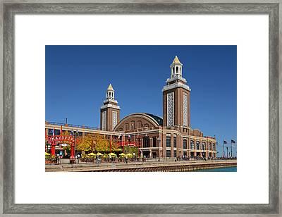 Headhouse Chicago Navy Pier Framed Print by Christine Till