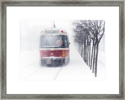 Headin' North Framed Print by Russell Styles