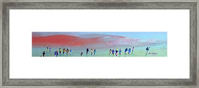 Heading For The Hills Framed Print by Neil McBride