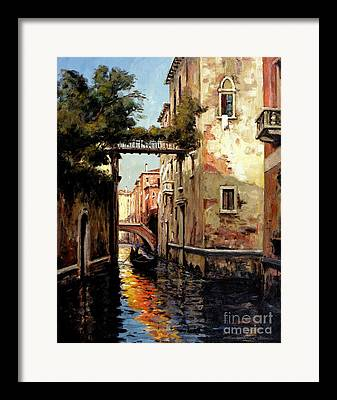 Flooding Framed Prints
