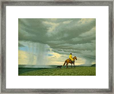 Heading Home Framed Print by Paul Krapf