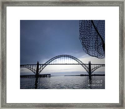 Heading Out Framed Print by Gwyn Newcombe